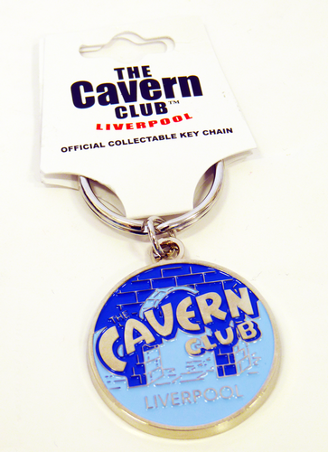 CAVERN CLUB Vintage Circle Retro 60s Mod Keyring