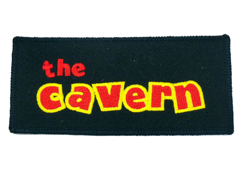CAVERN CLUB SEW ON PATCH CLASSIC LOGO PATCH RETRO