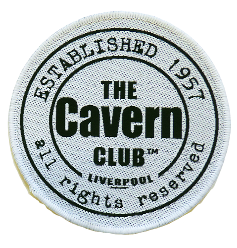 RETRO CAVERN CLUB BEATLES SEW ON PATCH RETRO BADGE
