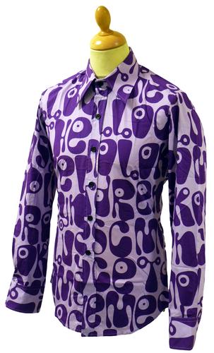 Moloko Chenaski Retro Sixties Pop Art Mod Shirt