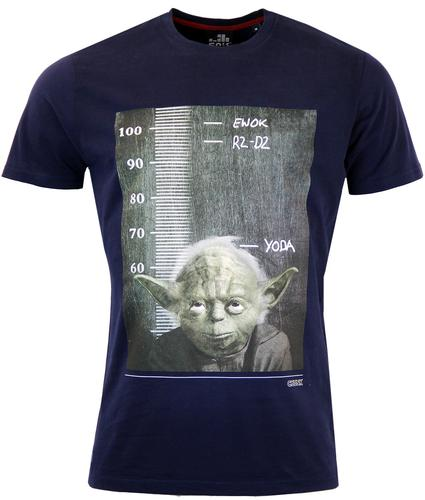 Jedi Height Chart CHUNK Indie Tee In Navy