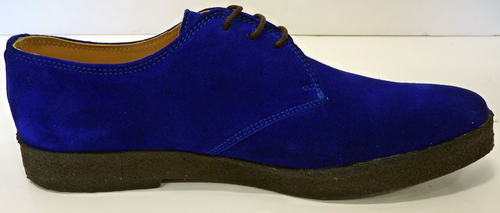 Dylan COMMON PEOPLE Mens Retro Suede Mod Shoes