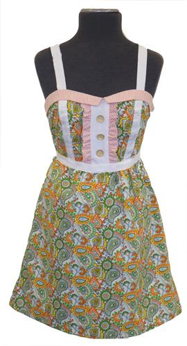 DAINTY JUNE ONE LAST KISS RETRO SIXTIES DRESS