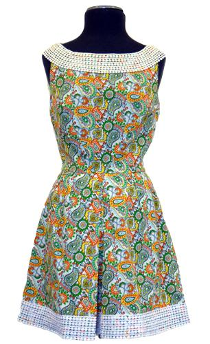 DAINTY JUNE TELEPHONE HOUR RETRO DRESS MOD DRESS