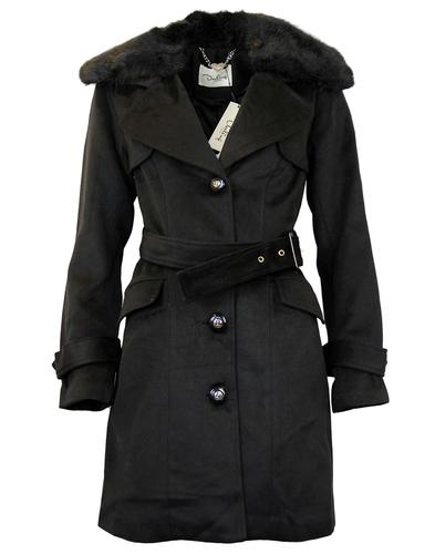 DARLING MACEY MAC 1950S BELTED TRENCH COAT