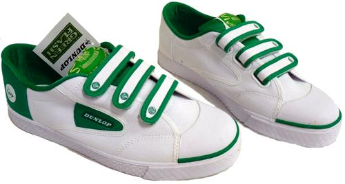 Dunlop Greenflash Velcro Retro Trainers (G)