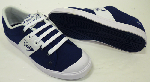 Mens Dunlop 1987 Panel Trainers | White