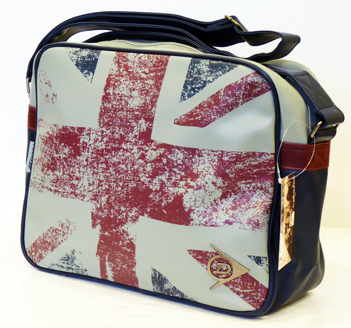 Union Jack Dunlop Retro In Mod Shoulder Bag G