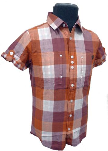 Check It - FLY53 Retro Indie Mens Check Shirt (R)