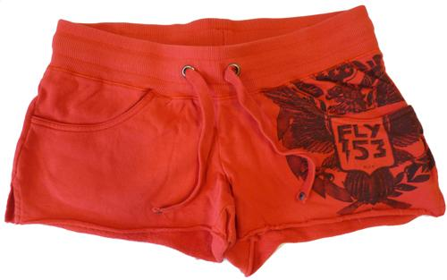 FLY53 FLY 53 WOMENS RAINED ON HOT PANTS SHORTS 70S