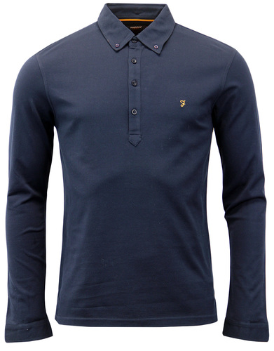 Merriweather FARAH Retro Mod Sixties Mens Polo