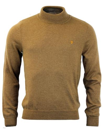 MCPATE Roll Neck FARAH Vintage Retro Jumper C