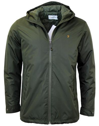 Rydal FARAH Retro Indie Rip Stop Padded Jacket (E)