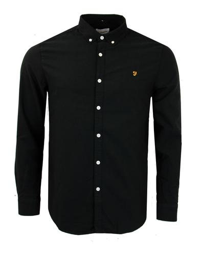 Brewer FARAH VINTAGE Retro Mod Oxford Shirt (B)