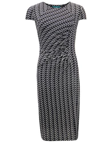 Ando FEVER Retro Art Deco Fitted Pencil Dress
