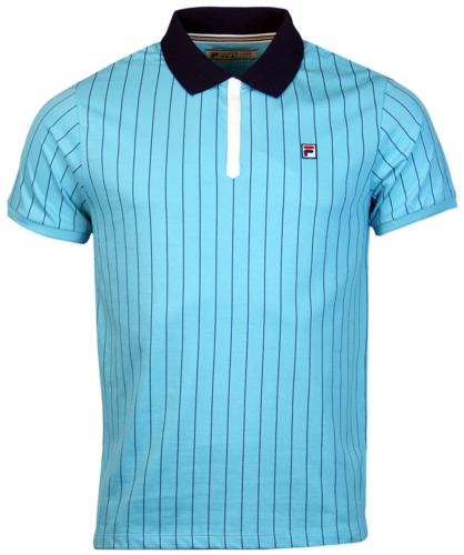 BB1 Borg Polo FILA VINTAGE Retro 70s Polo Top AB