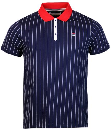 BB1 Borg Polo FILA VINTAGE Retro 70s Polo Top PG
