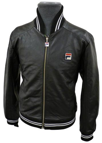 3a7cd1f24e9d Fila Vintage  Matchday  Settanta Jacket in Leather