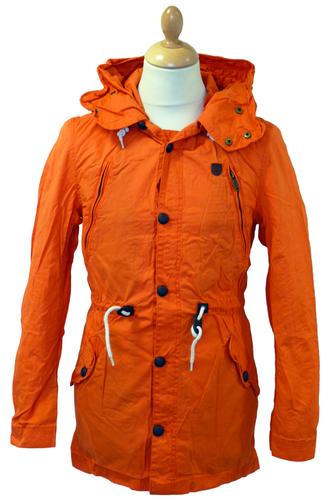 Cento Parka Jacket | FLY53 Retro Mod Military Indie 70s Casual Parka