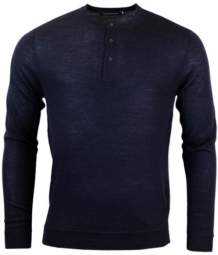 FRENCH CONNECTION Retro Merino Wool Knitted Jumper