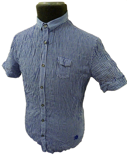 Sharppoint FULL CIRCLE Mens Retro Indie Mod Shirt
