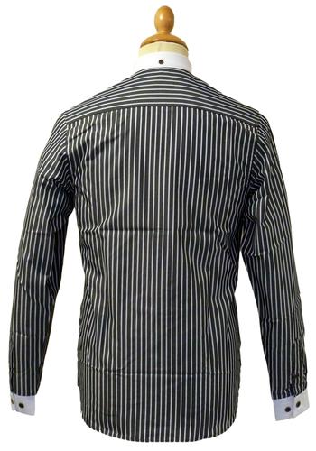 Scarborough GABICCI VINTAGE 60s Mod Stripe Shirt B