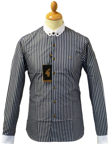 Scarborough GABICCI VINTAGE 60s Mod Stripe Shirt B