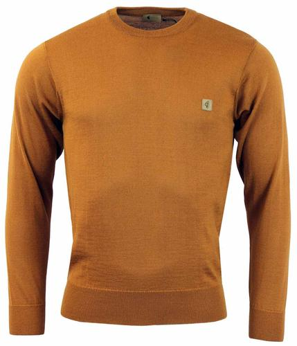 GABICCI VINTAGE RETRO MOD SWEATER WHISKEY