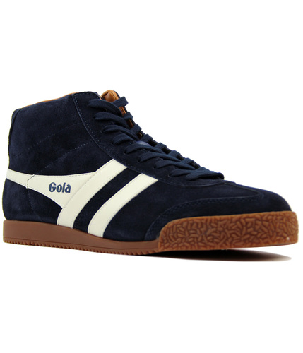 Mens Harrier High Suede Trainers Gola ZTTr77aLP