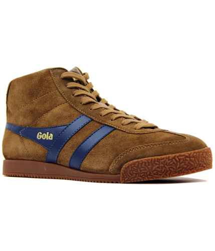 GOLA Harrier High Retro Premium Suede Trainers T
