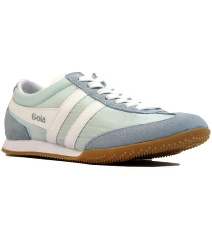 GOLA Wasp Womens Retro Nylon Suede Trainers BLUE