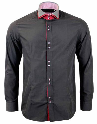 GUIDE LONDON RETRO DOUBLE COLLAR SHIRT
