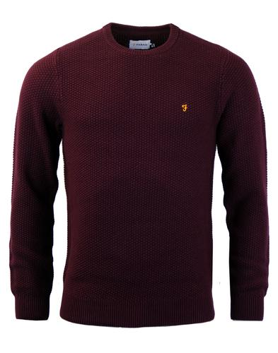 Hillingdon FARAH Retro Vintage Knitted Jumper