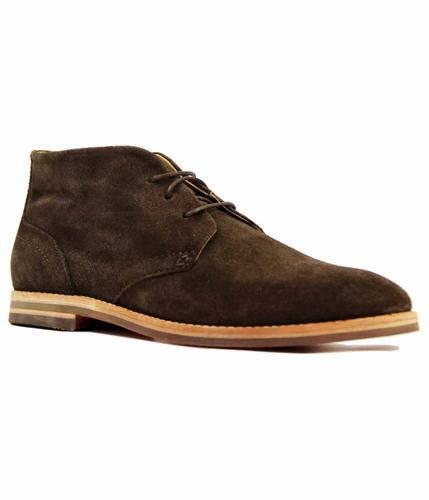Houghton 3 H by HUDSON Retro Mod Desert Boots (Br)