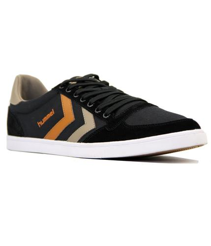 HUMMEL Slimmer Stadil Low Canvas Retro Trainers B