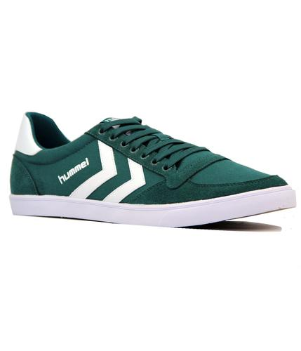HUMMEL Slimmer Stadil Low Canvas Retro Trainers G