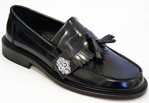 c91cf6445be Selecta IKON ORIGINAL Retro Mod Tassel Loafers BL