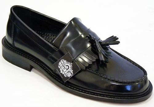 Selecta IKON ORIGINAL Retro Mod Tassel Loafers BL