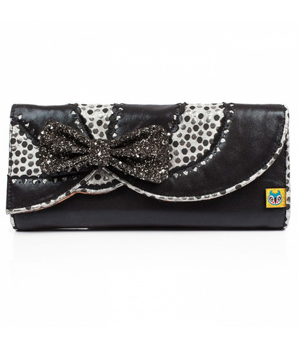 Curtain Call IRREGULAR CHOICE Retro Vintage Clutch