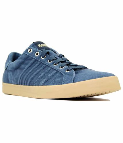 K-SWISS BELMONT T BLUE RETRO TRAINERS