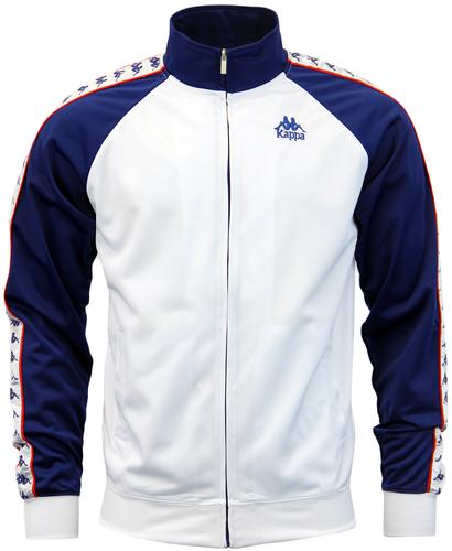 Britannia KAPPA Retro Contrast Sleeves Track Top