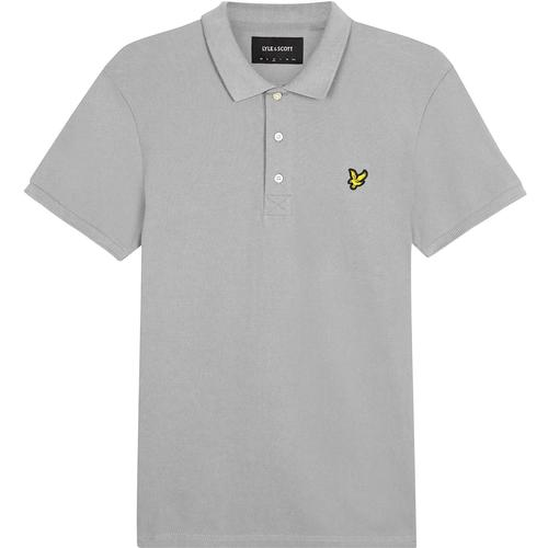 LYLE & SCOTT Men's Mod Stretch Pique Polo - Grey