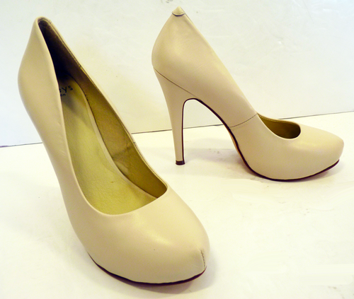 Quibble LACEYS Retro 60s High Heel Shoes I