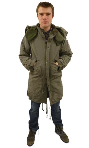 Lambretta M51 Fishtail Parka | Retro Mod Parkas at Atom Retro