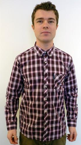 Sorry out of stock this is a vintage line which has for Hidden button down collar shirts
