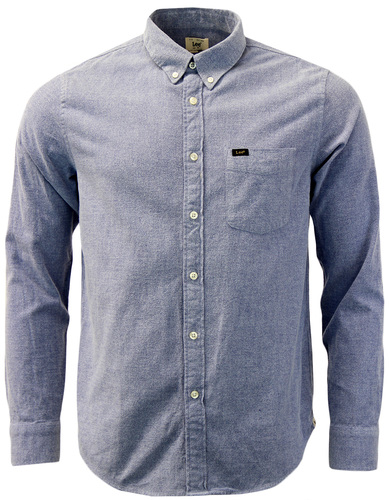 LEE Retro Button Down Indie Brushed Oxford Shirt
