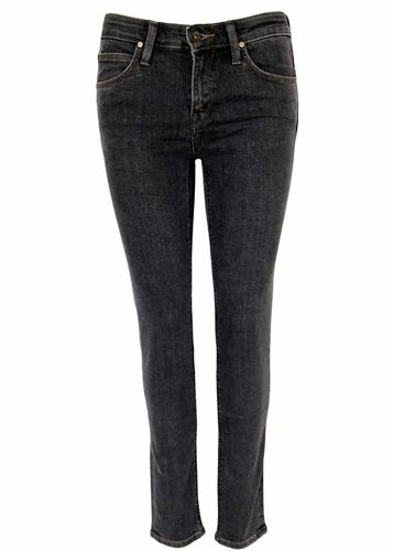 LEE SCARLETT RETRO BLACK WASH DENIM JEANS