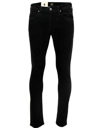 Luke LEE Retro Mod Slim Tapered Cord Jeans (BLACK)