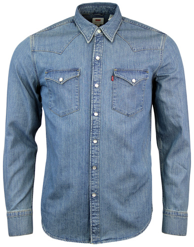Barstow LEVI'S® Retro 70s Mens Western Denim Shirt