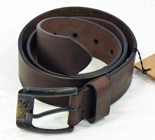 LEVI'S® Retro Mod Horse Embossed Buckle Belt (DB)